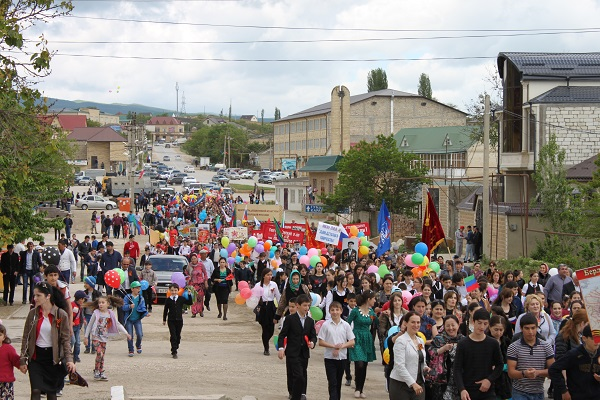Праздник Победы в Сергокалинском районе