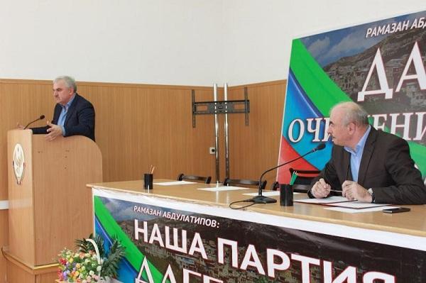 Заседание комиссий по санитарно-эпидемиологическому благополучию и чрезвычайным ситуациям состоялось в Сергокалинском районе